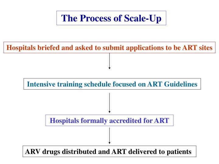The Process of Scale-Up