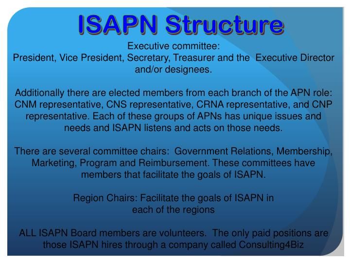 ISAPN Structure