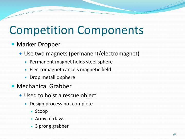 Competition Components
