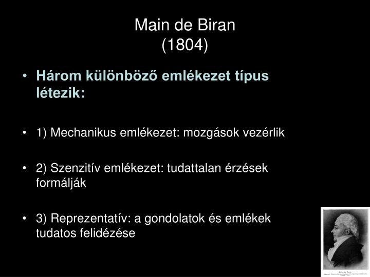 Main de Biran