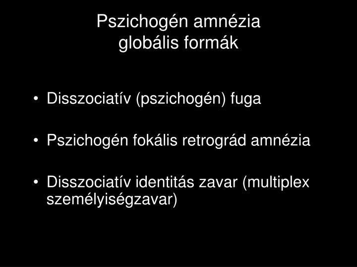 Pszichogén amnézia