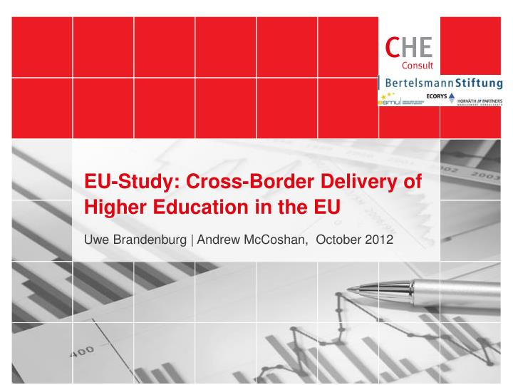 EU-Study: Cross-Border Delivery of Higher Education in the EU