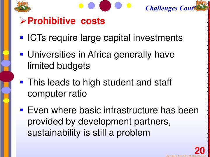 Challenges Cont'
