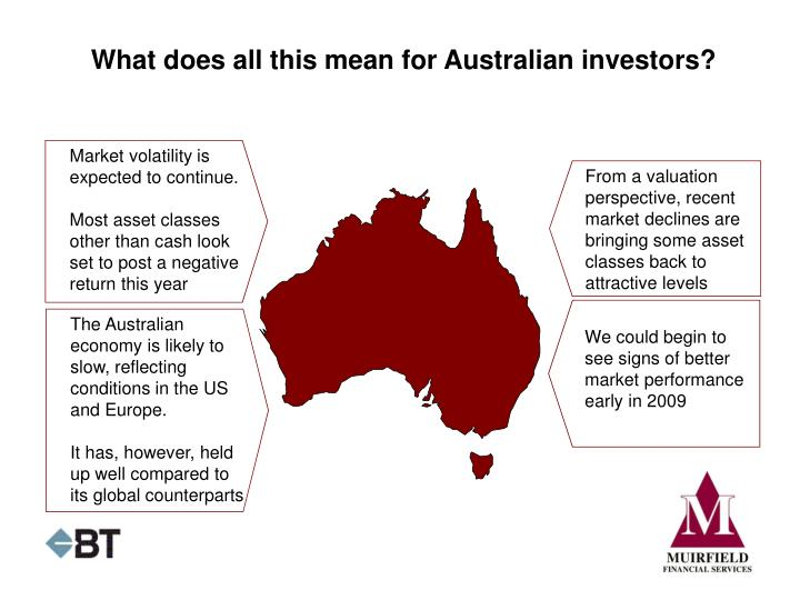 What does all this mean for Australian investors?