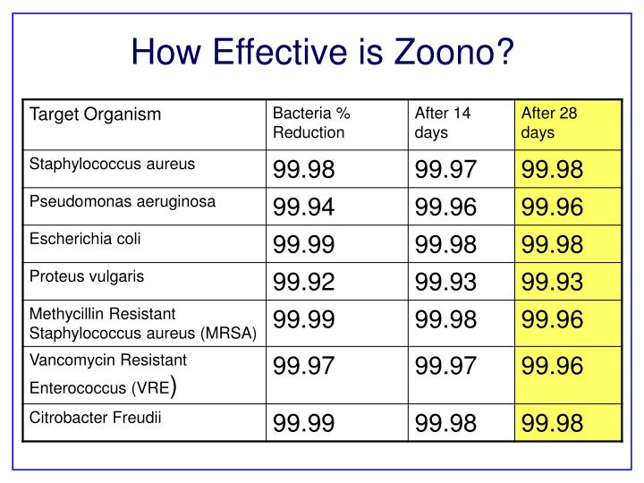 How Effective is Zoono?