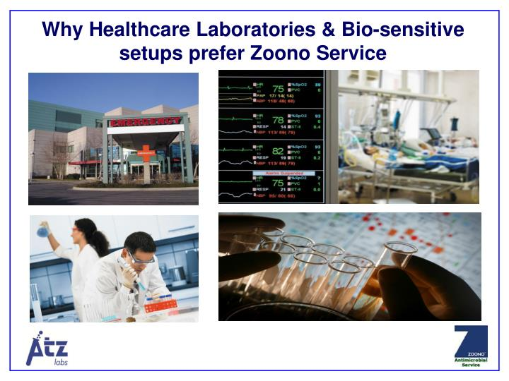 Why Healthcare Laboratories & Bio-sensitive setups prefer Zoono Service