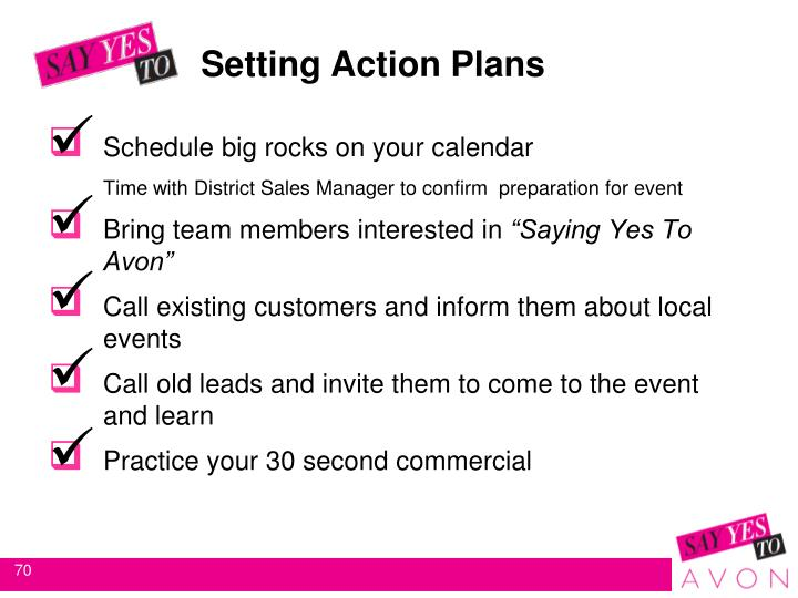 Setting Action Plans