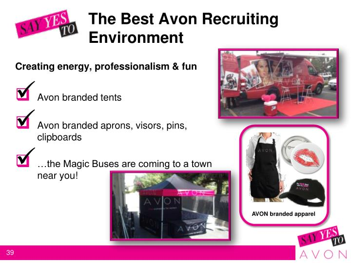 The Best Avon Recruiting Environment