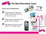 the best recruiting tools