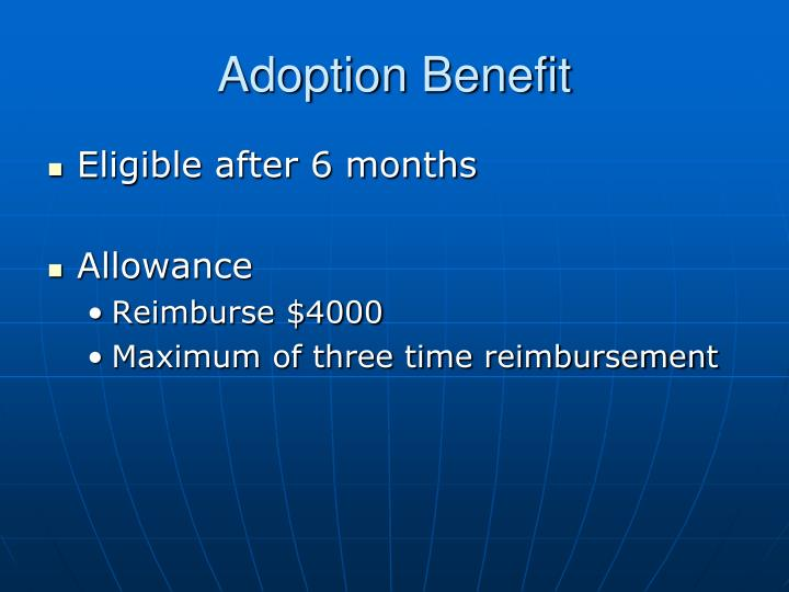 Adoption Benefit