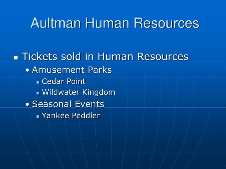Aultman human resources