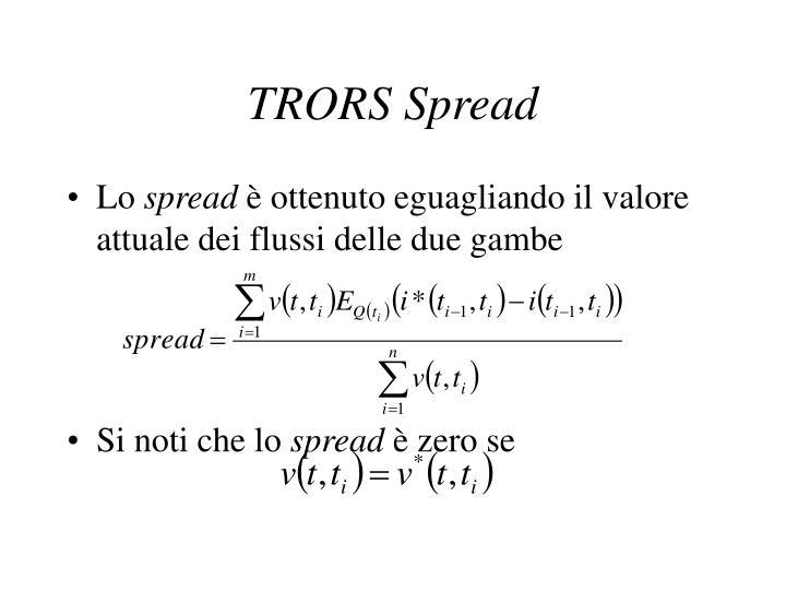 TRORS
