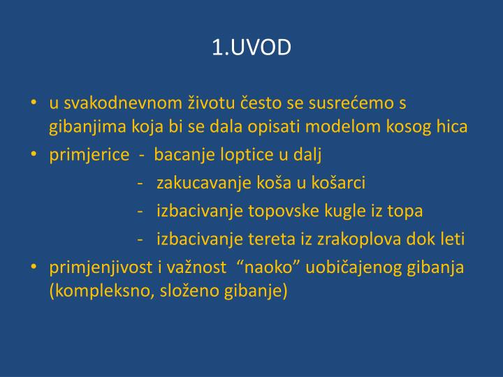 1.UVOD
