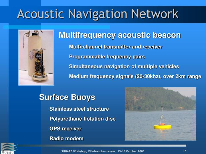 Acoustic Navigation Network