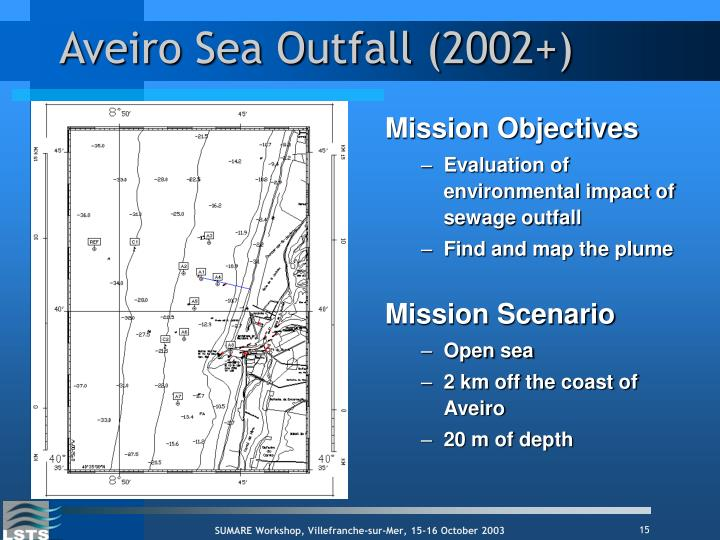 Aveiro Sea Outfall (2002+)