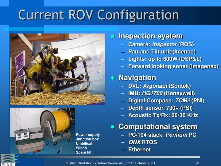 Current ROV Configuration