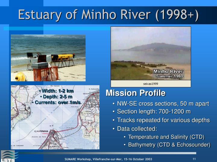 Estuary of Minho River (1998+)