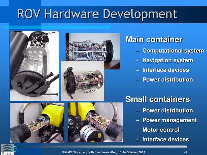 ROV Hardware Development