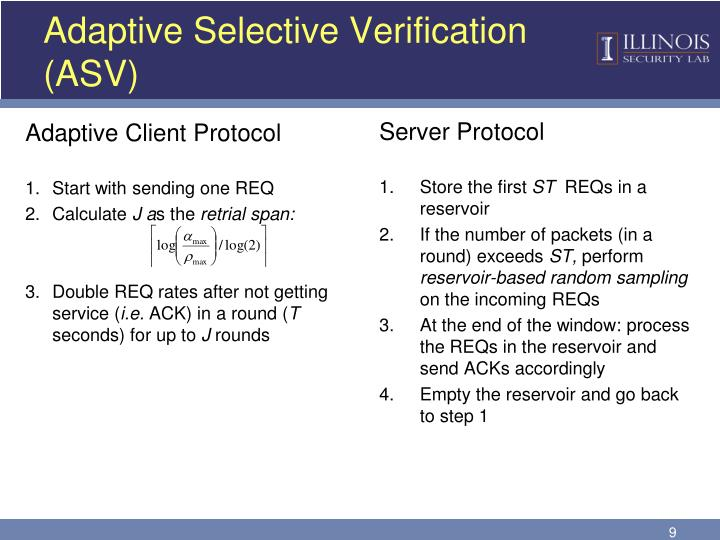 Adaptive Selective Verification (ASV)