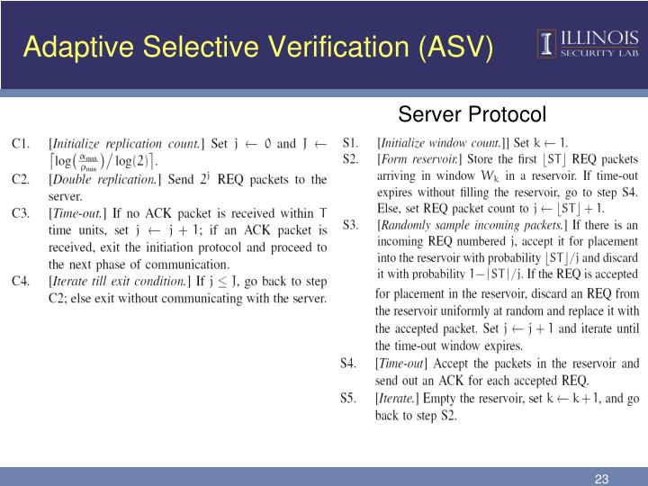 Adaptive Selective Verification (ASV)