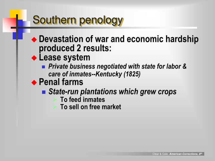 Southern penology