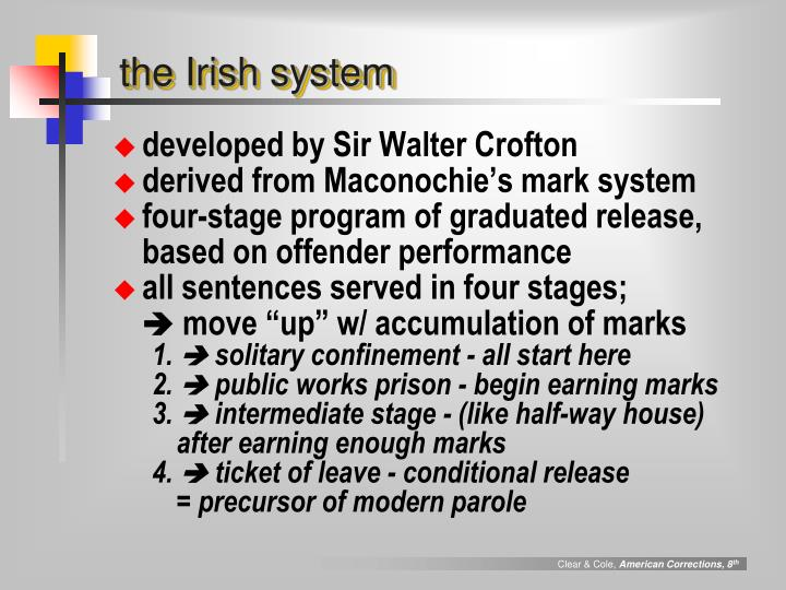 the Irish system
