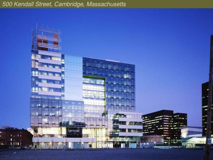 500 Kendall Street, Cambridge, Massachusetts