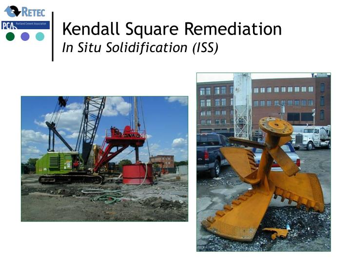 Kendall Square Remediation