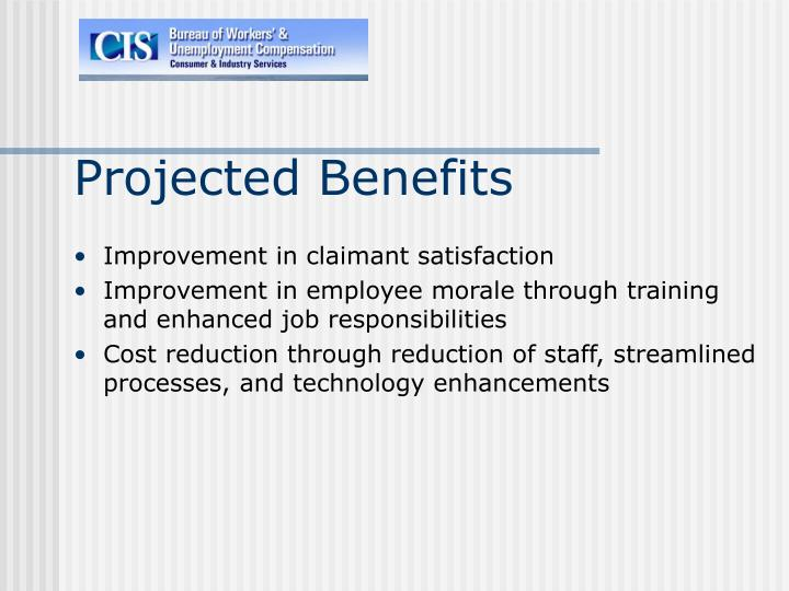 Projected Benefits