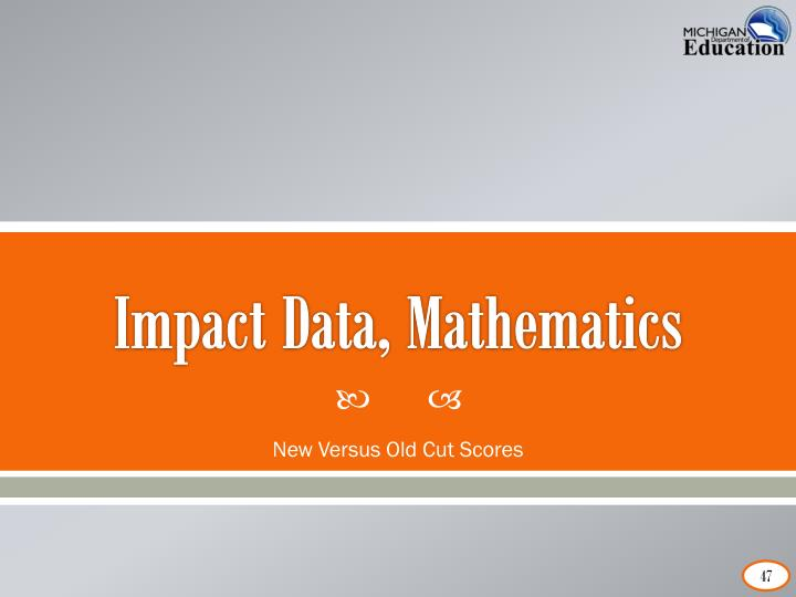 Impact Data, Mathematics