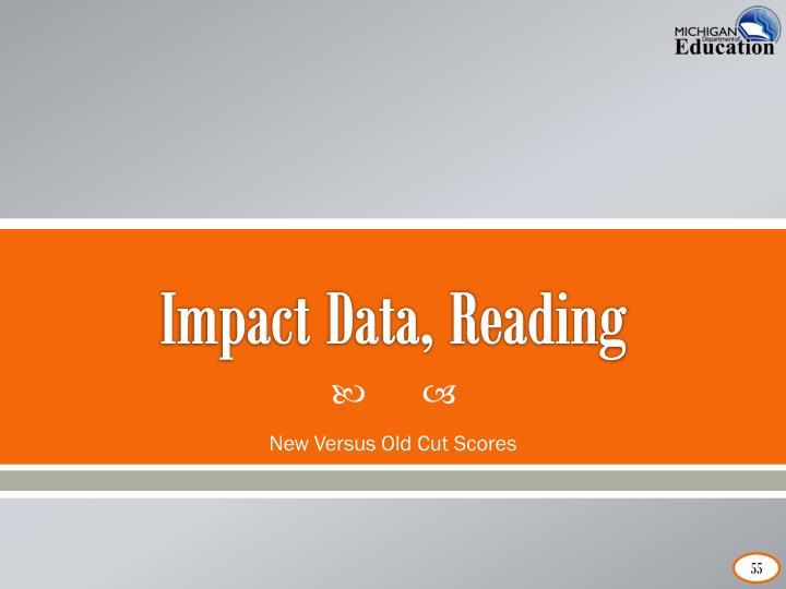 Impact Data, Reading