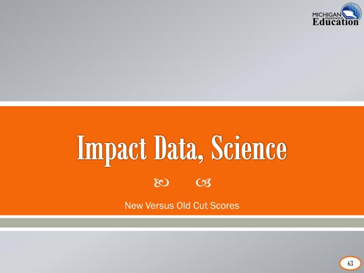 Impact Data, Science