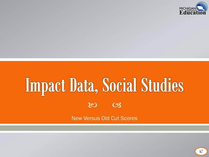 Impact Data, Social Studies
