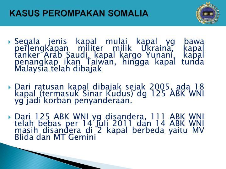 KASUS PEROMPAKAN SOMALIA
