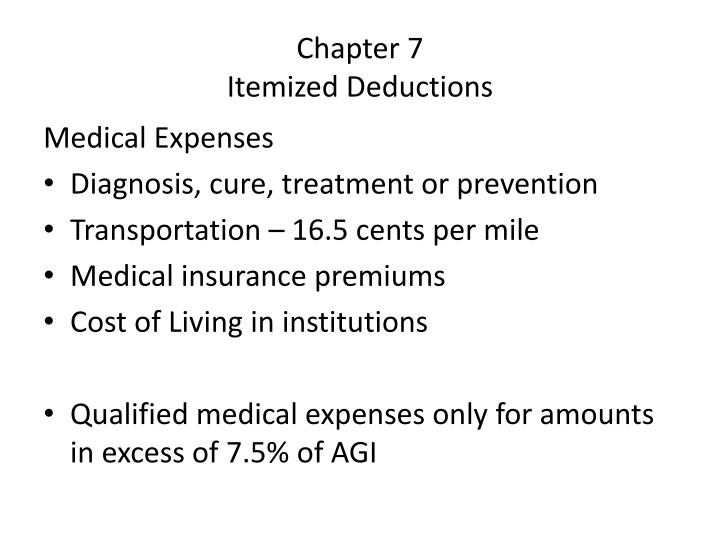 itemized deductions and optional standard If you have numerous itemized deductions such as mortgage interest, charitable contributions, etc should i itemize or take the standard deduction.