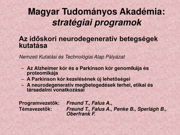Magyar Tudományos Akadémia: