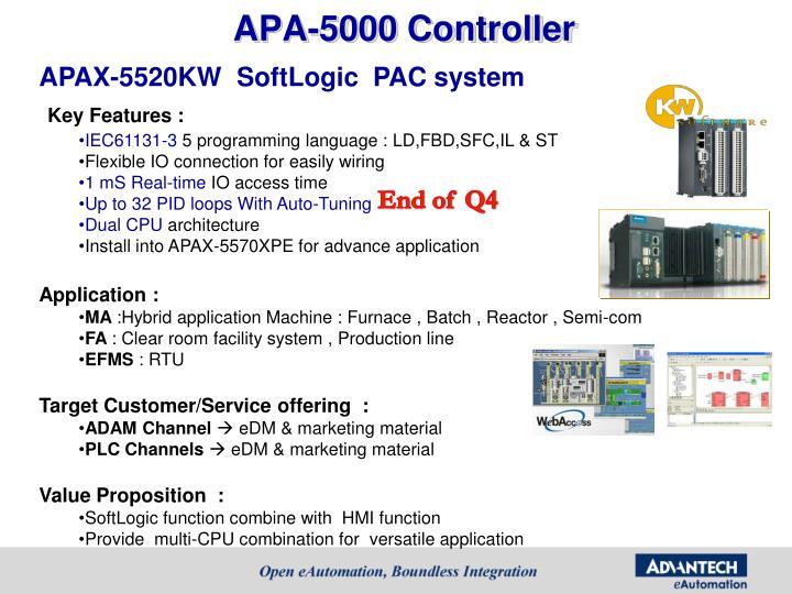 APA-5000 Controller