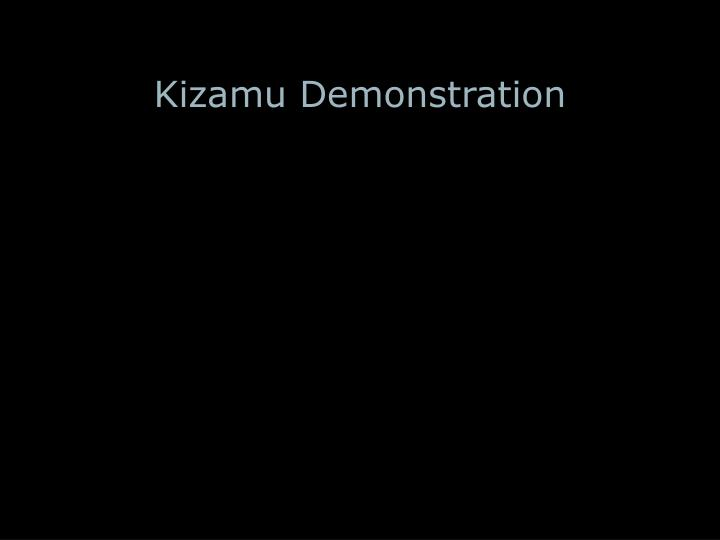 Kizamu Demonstration