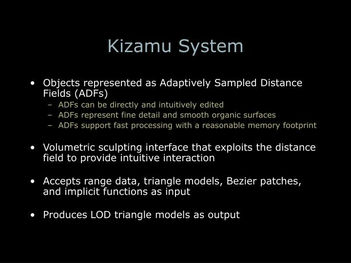 Kizamu System