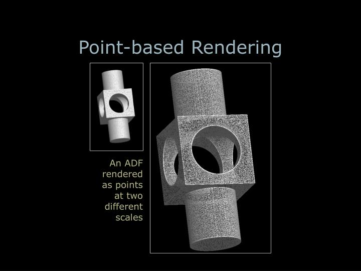 Point-based Rendering