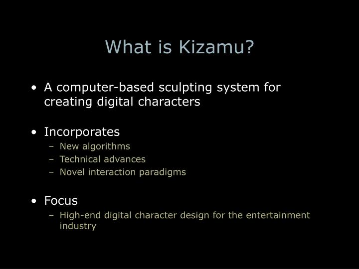 What is kizamu