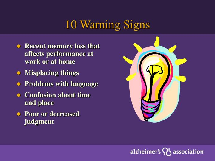 10 Warning Signs