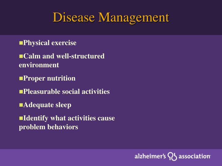 Disease Management