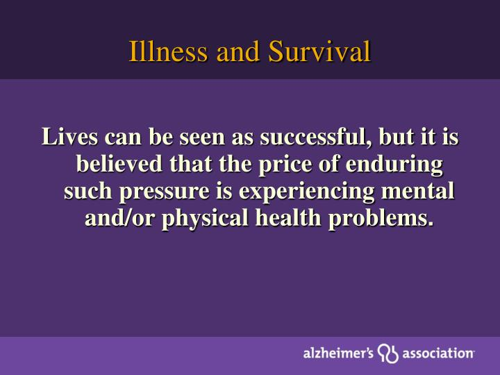 Illness and Survival