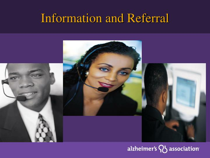 Information and Referral