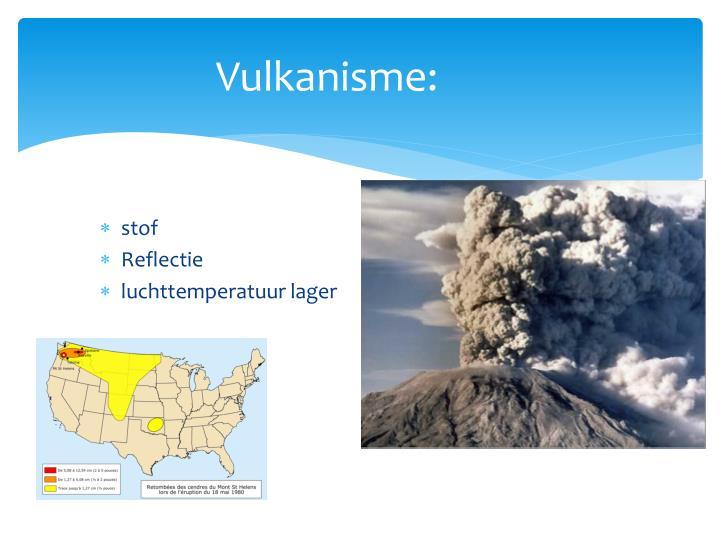 Vulkanisme: