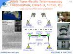 apan trans pacific telemicroscopy collaboration osaka u ucsd isi slide courtesy mark ellisman@ucsd