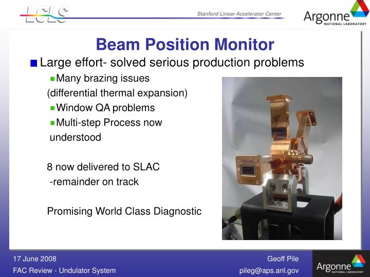 Beam Position Monitor