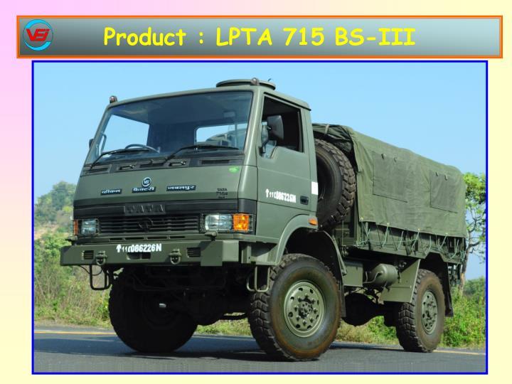 Product : LPTA 715 BS-III