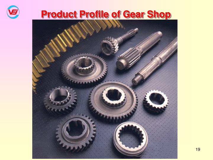 Product Profile of Gear Shop